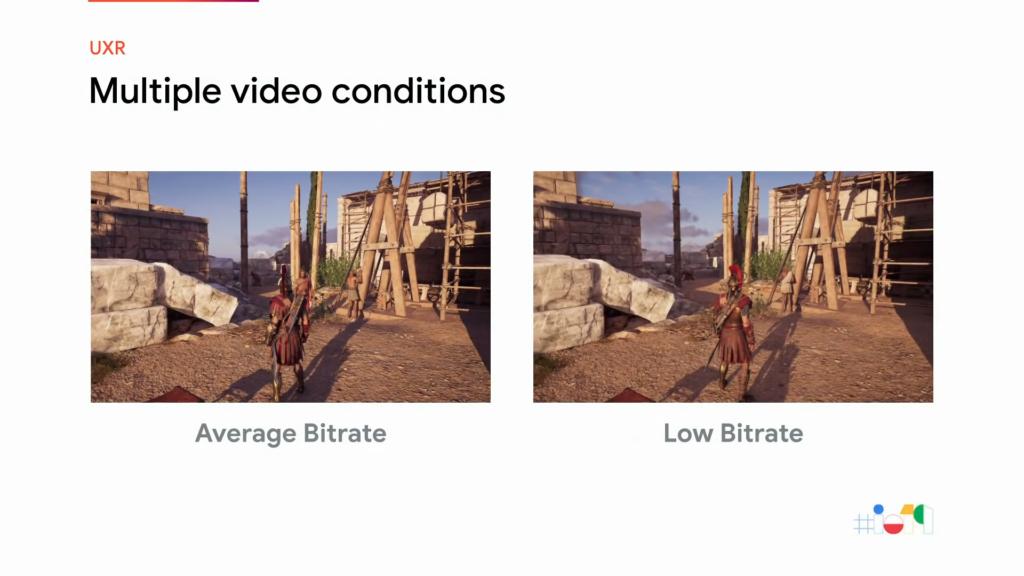 Conditions vidéo multiples