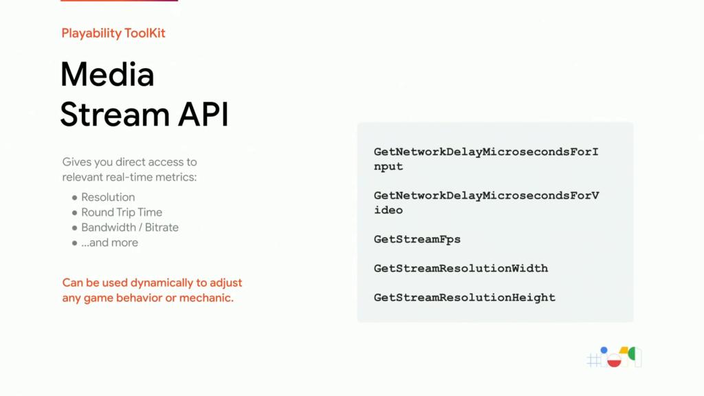 API de diffusion des médias