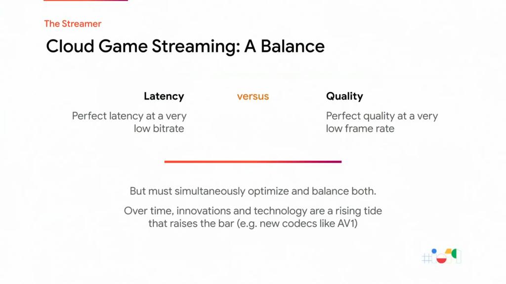 Équilibre entre la latence et la qualité